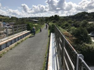 bideford bicycle hire bike tarka trail bideford station