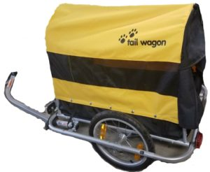 burley tail wagon dog trailer buggie bike tow bicycle cycle