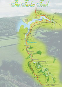 cycle route tarka trail map north devon